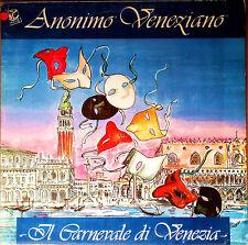 ANONIMO VENEZIANO - IL CARNEVALE DI VENEZIA - Discomagic LP 795 - COME NUOVO