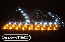 Cristal claro cromo JUEGO FAROS VW GOLF 5 jetta LED de circulación diurna TFL intermitentes de LED