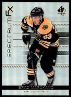 2019-20 UD SP Authentic Spectrum FX #S-13 Brad Marchand - Boston Bruins