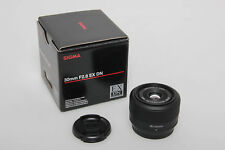 Sigma 30mm F2.8 EX DN Micro Four Thirds MFT Objektiv Lens Neu New