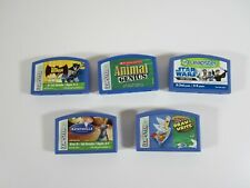 Lot of 5 Leap frog Leapster Learning Games * Tested *