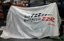 Kawasaki ZZR1100 Motorcycle cover from 1990 dealer launch very rare