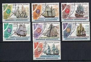 GRENADA GRENADINES 1976 Ships Bicentenary of American Revolution Set USED
