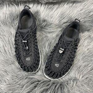 KEEN Uneek Black Size 5 Unisex YOUTH/ Big Kid O2 Sport Sandal Shoes Boys Girls