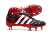 ADIDAS ADIPURE REGULATE STUD BOOTS Size 8 Rugby Football Sport Shoes SCREW IN