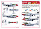 Kits-World Decals 1/48 P-51D Mustang - 'Fiesty Sue' - 'Petite Aggie' # 48175