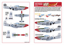 KITS-WORLD DECALS 1/48 P-51D Mustang - 'fiesty Sue' - 'petite AGGIE ' #48175