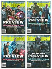 2015 Entertainment Weekly Summer Movie Preview 4 Cover Set Avenger Age of Ultron