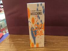 I LOVE LOVE MOSCHINO EDT 100 ML / 3.4 OZ SPRAY WOMEN NIB SEALED BOX ORIGINAL