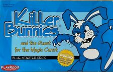 Killer Bunnies Blue Starter +Yellow Pink Booster completre set