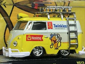 M2 Machines Edizione Limitata Hostess Twinkies 1960 VW Consegna Furgone
