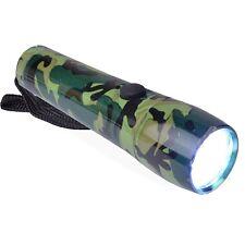 Halo Aluminum 9-LED Flashlight (Green Camouflage) B