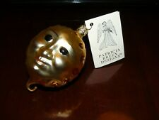 Patricia Breen Hand painted Ornament Golden Sun Face Icarus