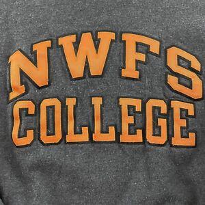 Champion NWFS Northwest Florida State College Pullover Sweatshirt Men's M Gray