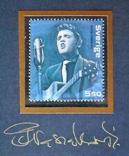 Sweden - Elvis Presley (2004) - Piotr Naszarkowski - GOLD engraver signature