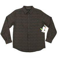 NEW Marmot Lost Coast Midweight Flannel Shirt Sz XL Slate Grey CoolMax UPF 50