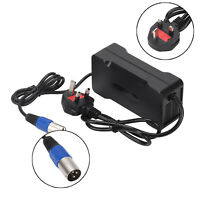 54.6V 4A Output Voltage 48V Lithium Battery Charger For Electric Bicycle UK Plug