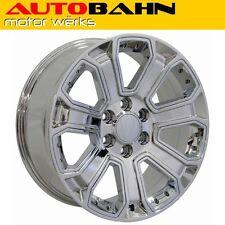 20x8.5 Chrome Silverado Z71 Style Wheel Rim Fits Chevrolet GMC Sierra INV5535