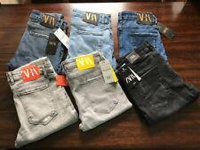ZARA Men's Slim &Stretch fit cotton jeans