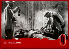 HAMMER HORROR - Series Two - Card #21 - The Mummy - Strictly Ink 2010