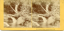 Kilburn Bros Littleton Nh Stereoview Beecher'S Falls Crawford Notch N.H.