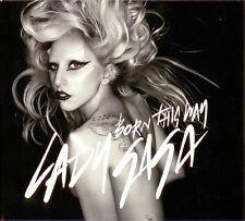 Lady Gaga CD Single Born This Way - Gatefold cardboard sleeve - England (M/M)