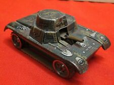 Char d'assaut tank GAMA DGRM made in Germany n°62 spielzeug altes rare tin toys
