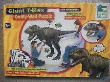 Giant T-Rex On-My-Wall Puzzle 4' x 5' Vinyl Animal Planet NEW! Re-positionable!