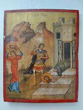 Beheading of John the Baptist Greek Byzantine Icon!!!!