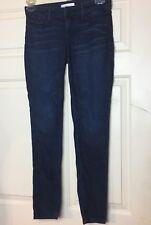 Habitual Women's Angelina Cigarette Dark Wash Skinny Jeans- Size 26
