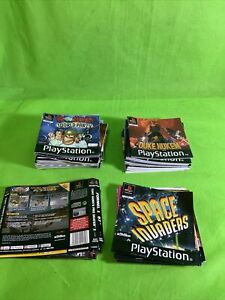 SONY PLAYSTATION ONE PS1 BUNDLE OF MANUALS AND INSERTS