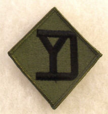 NAM WAR ERA 26TH INFANTRY DIVISION EMBROIDERED SUBDUED MERROWED EDGE