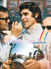 Francois Cevert Elf Tyrell 002 Winner USA Grand Prix 1971 Photograph 10