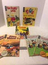 Vintage King comic books, lot of 7 two doubles, Great Condition Look