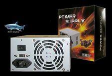 New 500W Standard ATX 12V Computer Power Supply, Desktop Tower PC Compact PSU PS