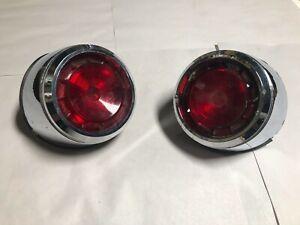 1961 DODGE DART PHOENIX NOS MOPAR TAIL LIGHT LAMP ASSEMBLY 61 - 2189980/2189981