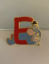 Japan Disney Mall Eeyore Character Alphabet Pin Le 100 From Frame Letters Rare