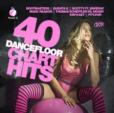CD 40 Dancefloor Chart Hits von Various Artists 2CDs