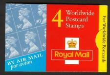 GB QEII MNH STAMP BARCODE BOOKLET GMA1 2000 CYLINDER CYL W1