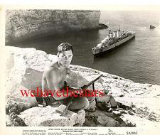 Vintage Jeffrey Hunter SEXY BEEFCAKE HANDSOME '53 Publicity Portrait