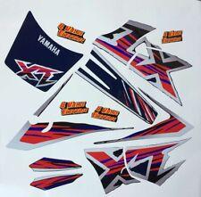 Kit Yamaha XT 600 E 4PT nero serbatoio blù adesivi/adhesives/stickers/decal