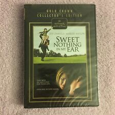 Sweet Nothing In My Ear (DVD, Hallmark Gold) Brand New Sealed, Cut in plastic