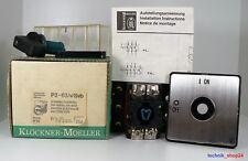 MOELLER ZWISCHENBAU HAUPTSCHALTER P3-63/v/Svb FRONT: IP55 NEU - NEW !!!