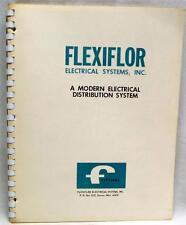 Flexiflor Electrical Systems Advertising Sales Catalog Brochure 1963 Vintage