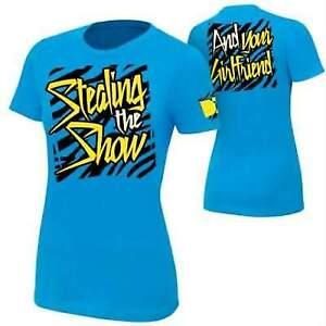 Dolph Ziggler Stealing the Show Womens T-shirt