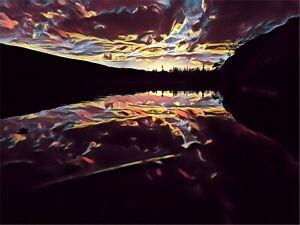 Sunset Over Echo lake