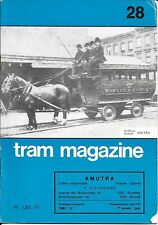 TRAM MAGAZINE n° 28 - 1982   ( STIB )