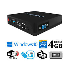 Orbsmart AW-08 lüfterloser Mini PC Windows 10 Intel QuadCore Smart TV Box