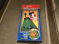 Vintage Casdon Indoor Flat Green Bowls Family Game Circ 1986 Complete