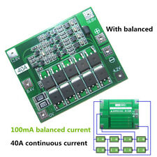 4S 40A Li-ion Lithium Battery 18650 Charger Module Protection Board with Balance